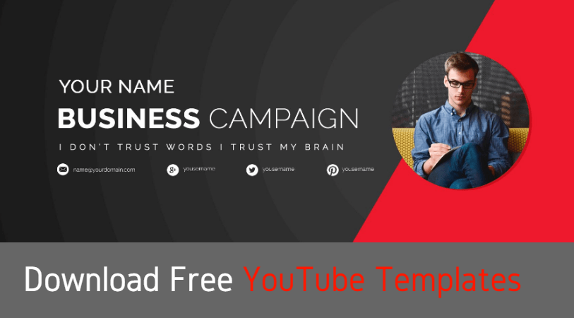 FREE YOUTUBE TEMPLATES