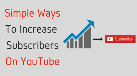 increase youtube subscribers