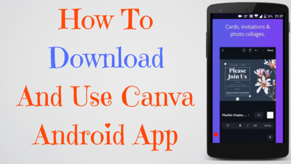 Canva Android App