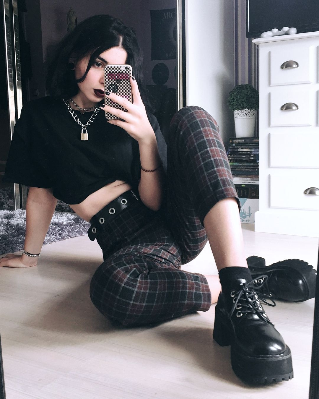 30 Stylish Grunge Outfits Design Ideas For Women 2019